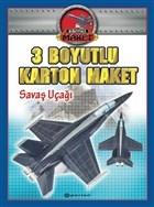 Savaş Uçağı - 3 Boyutlu Karton Maket