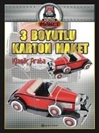 Klasik Araba - 3 Boyutlu Karton Maket