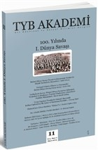 TYB Akademi Dergisi Sayı: 11 Mayıs 2014