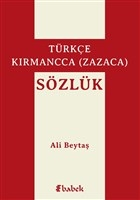 Türkçe-Kırmancca (Zazaca) Sözlük
