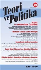 Teori ve Politika Dergisi Sayı: 79 Kış 2020