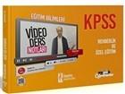 2021 KPSS Eğitim Bilimleri Rehberlik ve Özel Eğitim Video Ders Notları