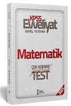2021 Evveliyat KPSS Matematik Çek Kopart Yaprak Test