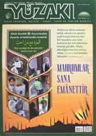 Yüzakı Aylık Edebiyat, Kültür - Sanat, Tarih ve Toplum Dergisi Sayı: 183 Mayıs 2020