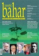 Berfin Bahar Aylık Kültür, Sanat ve Edebiyat Dergisi Sayı : 210 Ağustos 2015