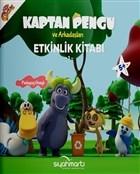 Kaptan Pengu ve Arkadaşları - Etkinlik Kitabı (5+ Yaş)