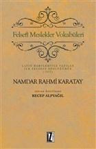 Felsefi Meslekler Vokabüleri