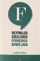 Ferhenga Biwejan - Deyimler Sözlüğü - Yeşil
