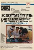 1992 New York City (ABD) Dünya 1. Zeka Oyunları Şampiyona ve Kongresi
