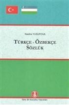 Türkçe-Özbekçe Sözlük