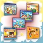 Çocuklar İçin Akıl ve Mantık Oyunları (6 Kitap Takım)