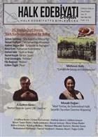 Halk Edebiyatı Dergisi Sayı: 35 Mart-Nisan 2020