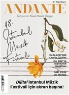 Andante Müzik Dergisi Yıl: 17 Sayı: 167 Eylül 2020