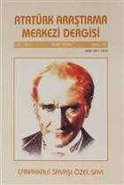 Atatürk Araştırma Merkezi Dergisi Cilt 16 Mart 2009 Sayı 73
