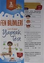 3. Sınıf Fen Bilimleri Çek Kopar Yaprak Test