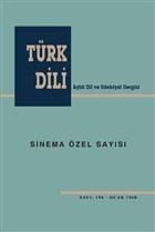Türk Dili Sinema Özel Sayısı