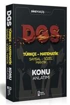 2021 DGS Türkçe Matematik Sayısal Sözel Mantık Konu Anlatımı