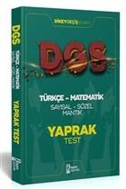 2021 DGS Türkçe - Matematik Sayısal - Sözel Mantık Çek Kopar Yaprak Test