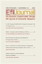 Efil Ekonomi Araştırmaları Dergisi: Cilt: 3 Sayı: 12 2020