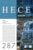Hece Aylık Edebiyat Dergisi Sayı: 287 Kasım 2020