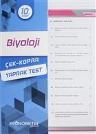10. Sınıf Biyoloji Çek-Kopar Yaprak Test