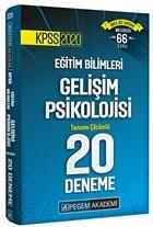 KPSS 2020 Eğitim Bilimleri Gelişim Psikolojisi Tamamı Çözümlü 20 Deneme