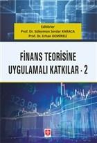 Finans Teorisine Uygulamalı Katkılar 2