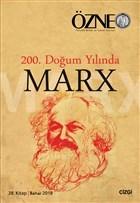 Özne 28. Kitap - 200. Doğum Yılında Marx
