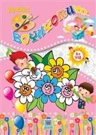 Çiçekleri Boyuyorum
