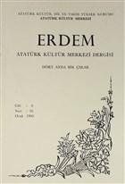 Erdem Atatürk Kültür Merkezi Dergisi Sayı : 16 Ocak 1990 (Cilt 6)