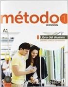 Metodo 1 Libro del Alumno A1  - 2 CD (İspanyolca Temel Seviye Ders Kitabı - 2 CD)