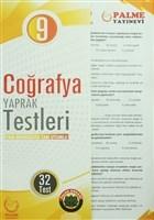 9. Sınıf Coğrafya Yaprak Testleri-Yeni Müfredata Uyumlu