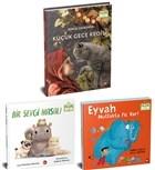 Hayvanları Seviyorum Seti - Organik Kitap (3 Kitap Takım)