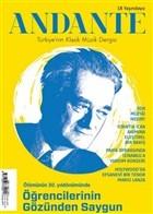 Andante Müzik Dergisi Yıl: 18 Sayı: 171 Ocak 2021