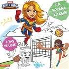 İlk Boyama Kitabım Captain Marvel - Marvel Super Hero Adventures