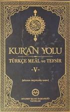 Kur'an Yolu Türkçe Meal ve Tefsir Deri Cilt 5