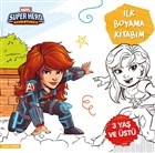 İlk Boyama Kitabım Black Widow - Marvel Super Hero Adventures