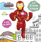 İlk Boyama Kitabım Iron Man - Marvel Super Hero Adventures