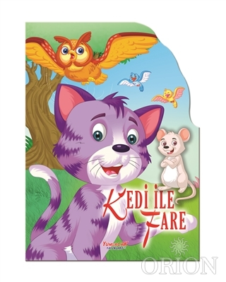 Kedi ile Fare - Şekilli Kitaplar