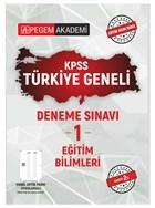 2021 KPSS Eğitim Bilimleri Türkiye Geneli Deneme Sınavı 1