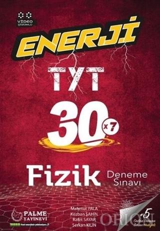 2021 Enerji TYT Fizik 30 Deneme Sınavı