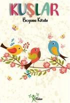 Kuşlar - Boyama Kitabı
