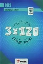 2021 DGS Yeni Nesil Sorular Sayısal-Sözel Bölüm 3x120 Deneme Sınavı