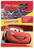 Disney Pixar Arabalar Şampiyon Çıkartmalı Boyama Kitabı