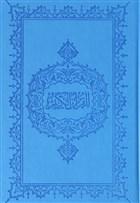 Kur'an-ı Kerim Hafız Boy İnce Mavi Kapak