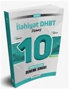 2021 DHBT Lisans Düzeyi Tamamı PDF Çözümlü 10 Deneme Sınavı