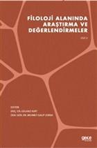 Filoloji Alanında Araştırma ve Değerlendirmeler Cilt 2