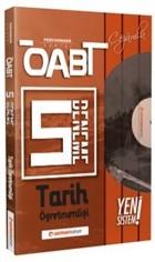ÖABT Tarih Öğretmenliği (75 Soruluk) Çözümlü 5 Deneme - Performans Serisi - Yeni Sistem