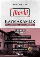 2021 Mevki Kaymakamlık Konu Anlatımı Modüler Seti - Türkiye'nin İdari Yapısı