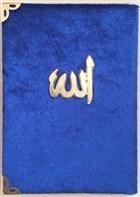 Cep Boy Kadife Kaplı Yasin Kitabı Metal Allah Lafızlı (Farklı Renklerde) Yas 110